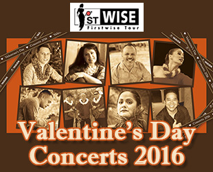 1ST WISE Firstwise Tour Valentine's Day Concerts 2016
