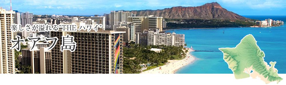 楽しさが溢れる THE ハワイ オアフ島
