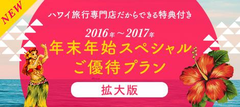 年末年始スペシャルご優待プラン 2016~2017 拡大版