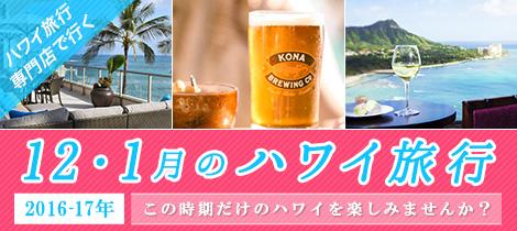 【新着】12・1月のハワイ旅行