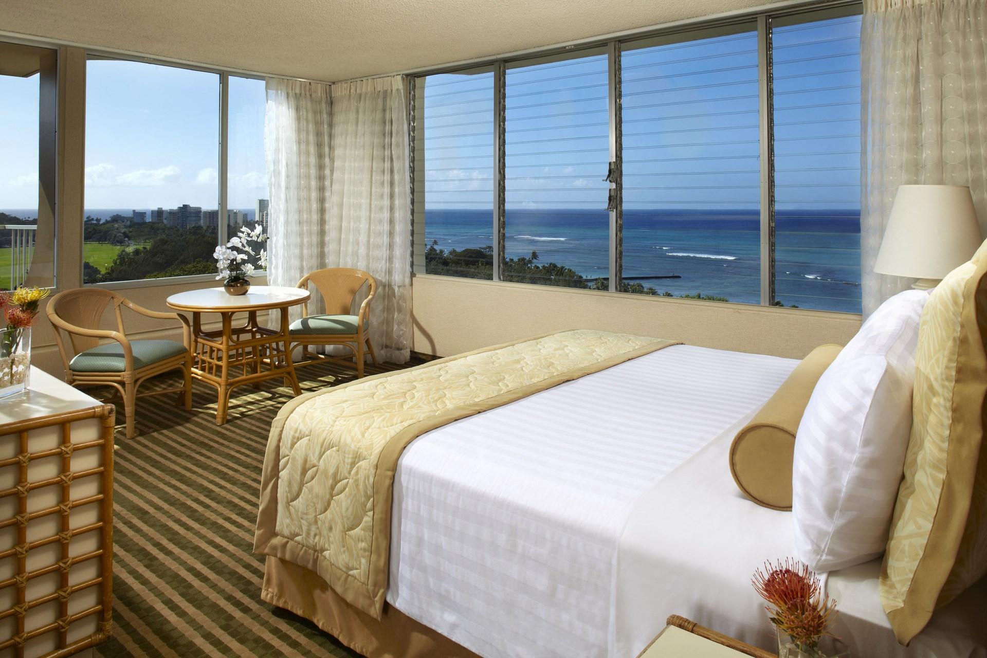 クイーン カピオラニ ホテル ホノルル、ワイキキ の部屋、地図等の詳細情報【ハワイホテル図鑑 ファーストワイズ】