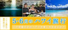 【更新】5・6月のハワイ旅行