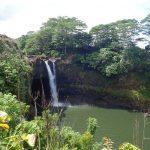 ハワイ島滞在記♪第七弾 観光編~美しい滝が魅力!「レインボー・フォールズ」~