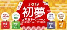 2019 初夢お年玉キャンペーン