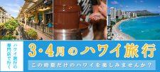 【更新】3・4月のハワイ旅行