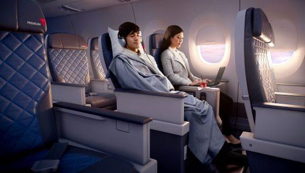 デルタ航空|コンフォート・プラス座席