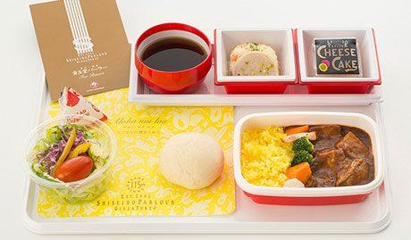 日本航空|ハワイ便専用機内食